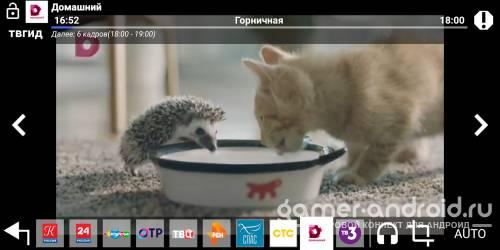 Цифровое ТВ 20 каналов онлайн бесплатно на Андроид