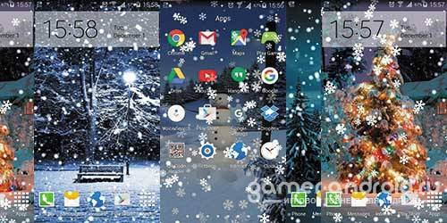 Snow on Screen Winter Effect